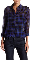 The Kooples Voile Check Shirt