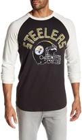 Junk Food Clothing Pittsburgh Steelers Raglan Tee