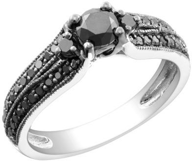 Black Diamond Engangement Ring