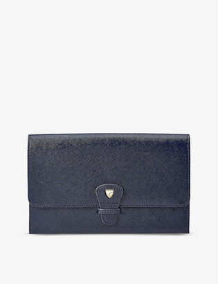 Aspinal of London Classic Travel leather wallet