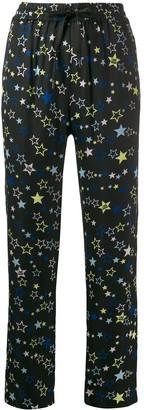 Love Moschino Star Print Drawstring Trousers