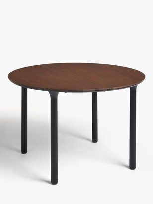 John Lewis & Partners Yoko 4-6 Seater Extending Dining Table, Dark Oak