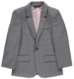 George Grey Check Suit Jacket