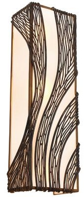 Varaluz Flow Vertical Tall Wall Sconce