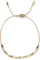 Noir Gold-tone and crystal bracelet