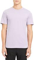 Theory Men's Precise Luxe Cotton Crewneck T-Shirt