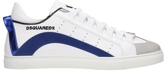 DSQUARED2 551 Sneakers In White Leather