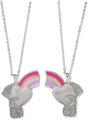 Me To You Best Friends Rainbow Necklace Set