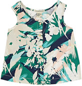 Anthem of the Ants TROPICAL-FLORAL SLEEVELESS TOP SIZE 6