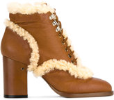 Laurence Dacade 'Manushka' ankle boots - women - Leather/Sheep Skin/Shearling - 36