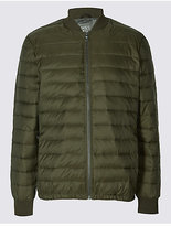 M&S Collection Lightweight Padded Jacket with StormwearTM