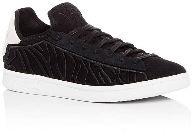 Y-3 Men's Shishu Stan Embroidered Lace Up Sneakers