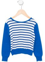 Junior Gaultier Girls' Striped Long Sleeve Top w/ Tags