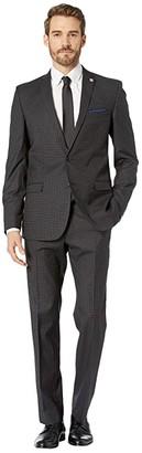 Nick Graham Mercury Madness Check Suit (Grey) Men's Suits Sets