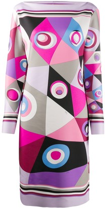 Emilio Pucci Occhi-print shift dress