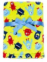 Baby Gear Plush Velboa Ultra Soft Baby Boys Blanket 30 x 40