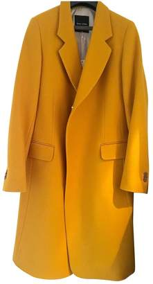 Each X Other Each X Yellow Wool Coat for Women