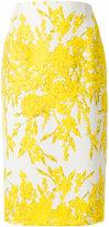 Blumarine floral print pencil skirt