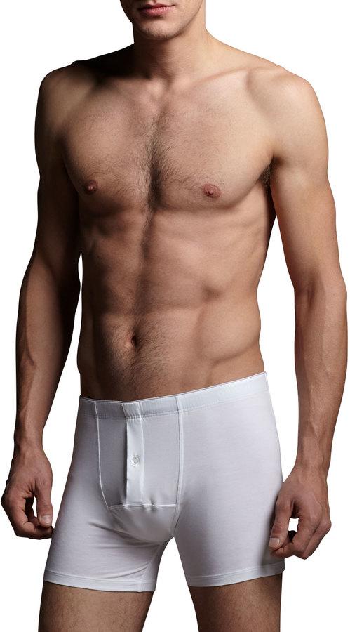 Hanro Cotton Superior Long Boxer Briefs