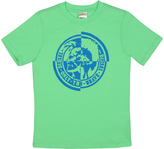 Diesel Brilliant Green Circle Logo Tee - Boys