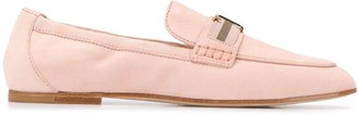 Tod's T-plaque loafers