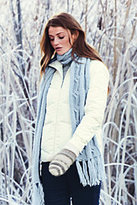 Classic Women's Petite Down Jacket-Ivory