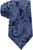 STAFFORD Stafford Lakefront Ground Paisley Tie - Extra Long