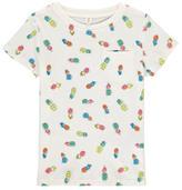 Stella McCartney Sale - T-Shirt Allover Ananas Lizzie Ecru