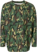 Palm Angels camouflage sweatshirt