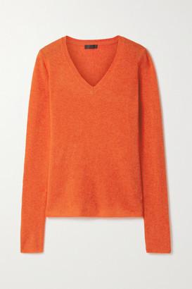 ATM Anthony Thomas Melillo Cashmere Sweater - Bright orange