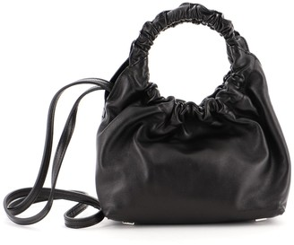 The Row Double Circle Bag Leather Small