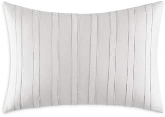 "Vera Wang Striped Seams Decorative Pillow, 12"" x 16"""