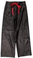 Alexander Wang Wide-Leg Leather Pants w/ Tags