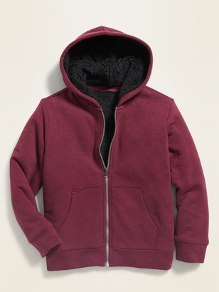 Old Navy Sherpa-Lined Zip Hoodie for Boys