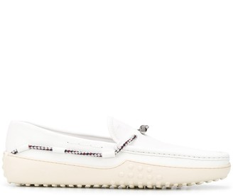 Tod's Rubber-Sole Loafers