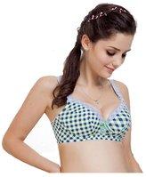 Yesimai Sexy Women Seamless Underwear Support Plunge Push up Bra 34 36 38 40 Cup B C (34C, )