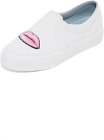 Chiara Ferragni Eye Lips Slip On Sneakers