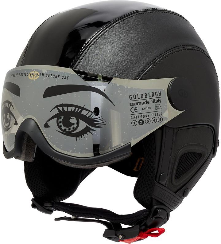 Goldbergh Glam' Visor Faux Leather Ski Helmet