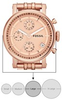 Fossil 'Original Boyfriend' Chronograph Bracelet Watch, 38mm
