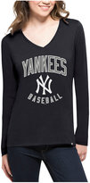 '47 Women's New York Yankees Splitter Arch Long-Sleeve T-Shirt