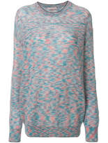 Christopher Kane Oversized Crew Neck Sweater - Multicolor - Size S
