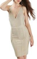 Topshop Women's Strappy Bandage Body-Con Dress