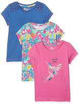 Mothercare 'Let'S Fly Away' Tee - 3 Pack, Multi, (Manufacturer Size:98)