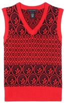 Marc Jacobs Metallic Wool-blend Knitted Vest
