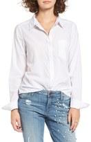BP Women's Cotton Blend Button Down Shirt
