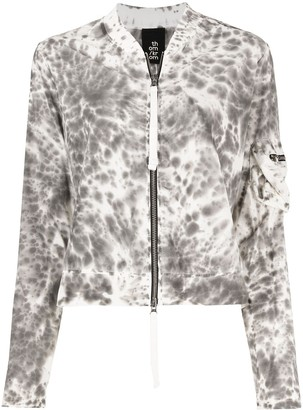 Thom Krom Marble-Effect Bomber Jacket