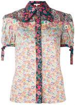 Olympia Le-Tan floral print shirt