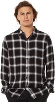 Stussy Philly Check Ls Mens Shirt Grey
