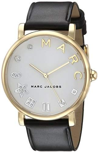 Marc Jacobs Women's 'Classic' Quartz Stainless Steel and Leather Casual Watch