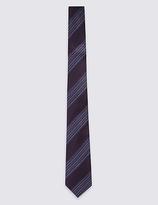 Limited Edition Pure Silk Stripe Tie